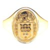 Yellow Gold Oval Ladies Coat of Arms Ring 1 kilt klit kitl klit models tratan tartan artna tarntasn tartans