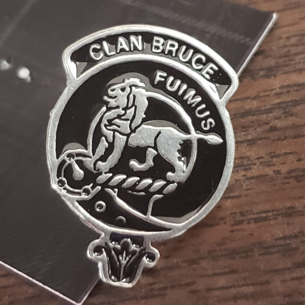 Scottish Clan Lapel Pin Samples Bruce