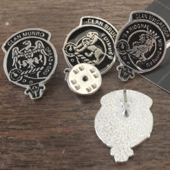 Scottish Clan Lapel Pin Samples 2