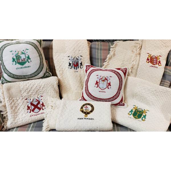Examples of Embroidered Heraldry Crests Coats of Arms