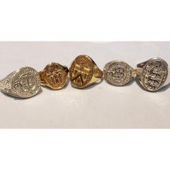 Coat of Arms Various Heraldry Rings