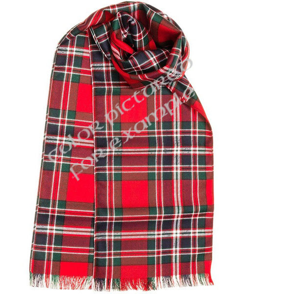 Watermarked Example Tartan Scarf