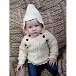 Baby Lace Knit Hoodie 2