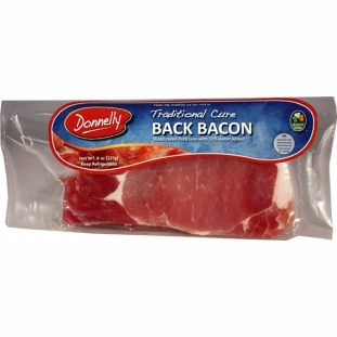 Rashers Irish Back Bacon Donnellys Imported Irish Foods