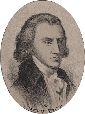 James Smith Signer of the Declaration of Independence from Ireland