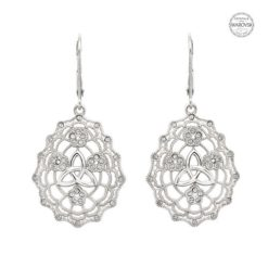 Irish Lace Trinity Earrings