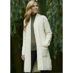 Shawl Edge to Edge Cardigan 100% Merino Wool Made in Ireland