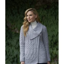 Single Button Cardigan X4682 100% Super Soft Merino Wool