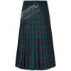 Tartan All Round Pleated Skirt Ladies Kilted Styles
