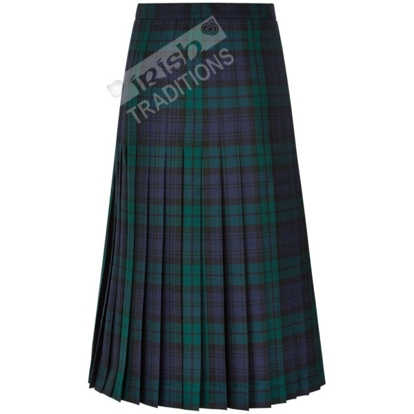 Tartan All Round Pleated Skirt Ladies Kilted Styles