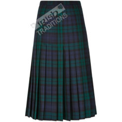 Tartan All Round Pleated Skirt Ladies Kilted Styles Back