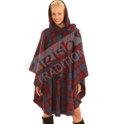 Edinburgh Cape Tartan Traditional Cape Women's Outerwear Fashion