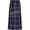 Ladies Scottish Tartan Hostess Skirt