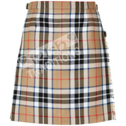 Tartan Kilt Mini Skirt Thompson Camel Example