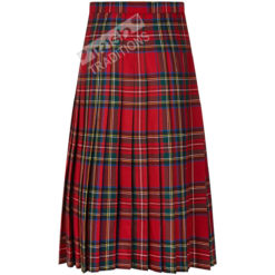 Ladies Kilted Skirt Back