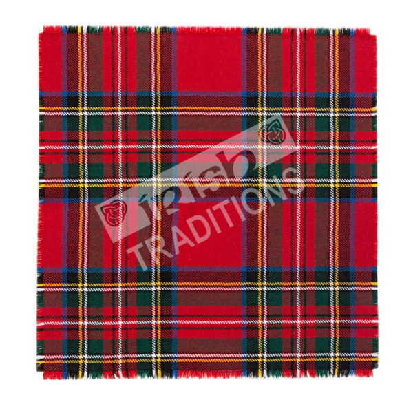 Pocket Square Example Scottish Tartan Pocket Square