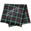 Shawl Reiver Example Lightweight Tartan Fabric Fringed