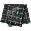 Shawl Reiver Example Lightweight Tartan Fabric Fringed