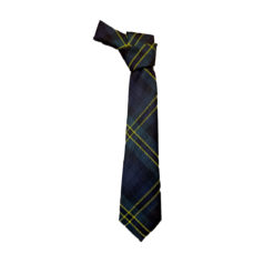 Polaris Submariner US Navy Military Tartan Tie naval academy pipe band