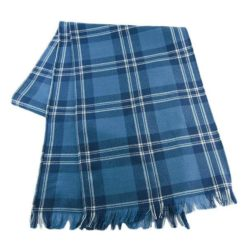 Clergy Blue Ancient Tartan Scarf clregy