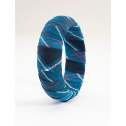 Navy Edzell Military Tartan Bracelet