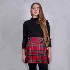 Billie Kilted Skirt Lifestyle Modeled 2020