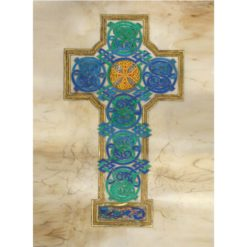Celtic Cross Illuminated Print