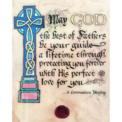 Communion Blessing Illuminated Manuscript Print