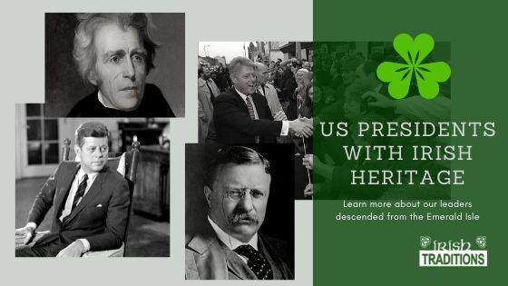 US Irish Presidents Banner