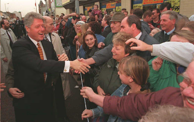 President Clinton In Northern Ireland, Peace Talks