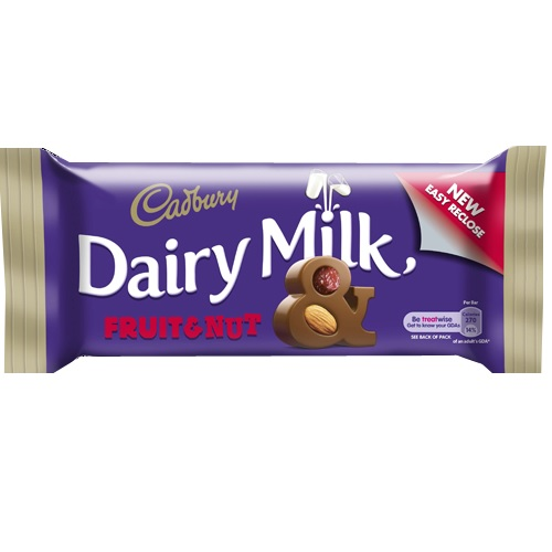 Cadbury Dairy Milk Fruit and Nut Bar