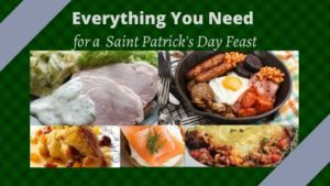 Saint Patricks Day Feast