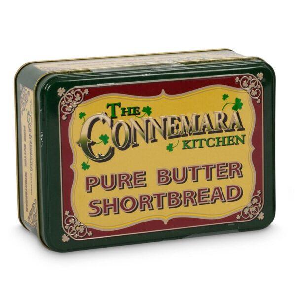 Connemara Kitchen Butter Shortbread in a decorative tin