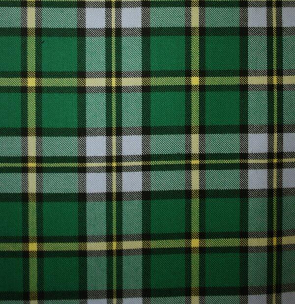 Green Tartan Pattern Kilted Onesie