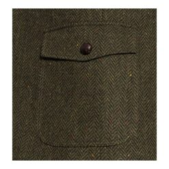 McDonagh Green Irish Tweed Heritage Jacket Pocket Details