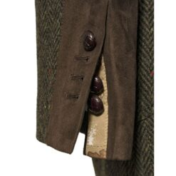 McDonagh Green Irish Tweed Heritage Jacket Cuff Details