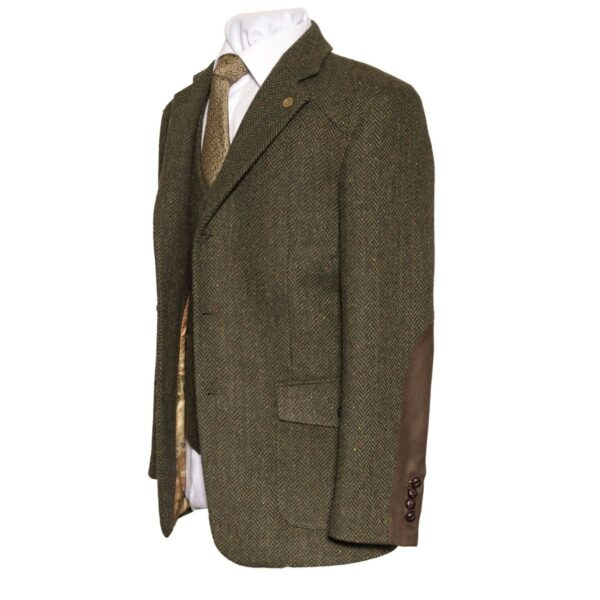 McDonagh Green Irish Tweed Heritage Jacket Details