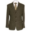 McDonagh Green Irish Tweed Heritage Jacket