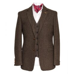 Irish Tweed Brown Stephens Jacket