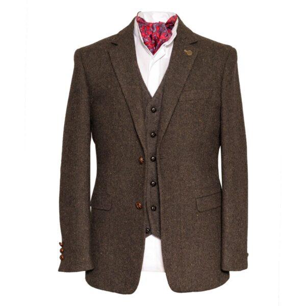 Irish Tweed Brown Stephens Jacket