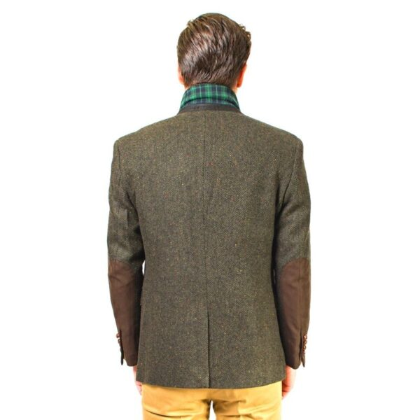 McDonagh Green Irish Tweed Heritage Jacket Model Details