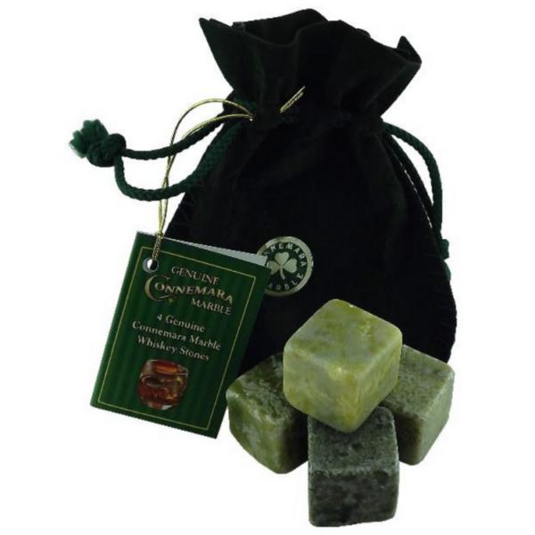 Connemara Marble Whiskey Stones set of four