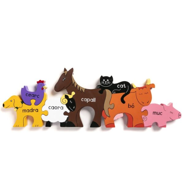 Irish Farm Animals Puzzle