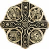 Resin Replica of the Book of Kells Great Cross from Co. Meath, Ireland