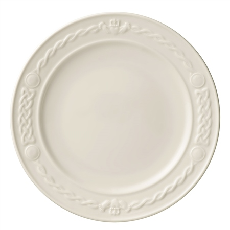 Belleek China Small Claddagh Side Plate