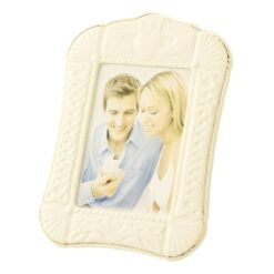 Belleek China Claddagh Picture Frame