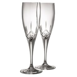 Crystal Champagne Flutes Longford Collection Galway Crystal