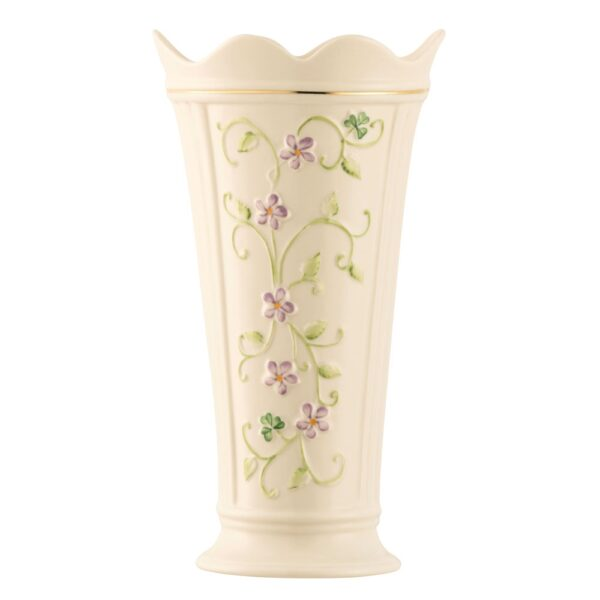 •Made in Ireland •Hand Painted •Features Gold Embossed Designs •Measures 4 in W x 7 in H