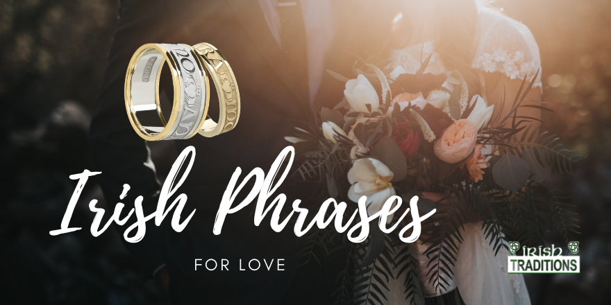 Irish Phrases for Love Banner