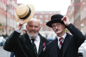 Celebrating Bloomsday David Norris John Shevlin from dublinlive.ie